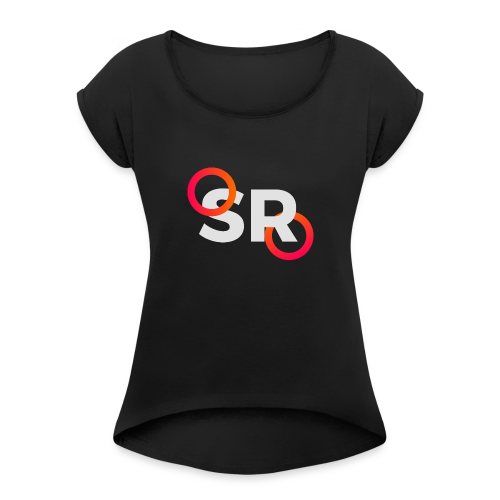 Simulator Radio - Women's T-shirt with rolled up sleeves