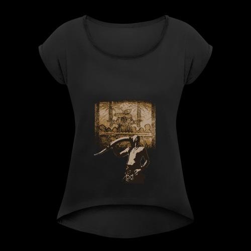 Buvons à la gloire de Svefnii - T-shirt à manches retroussées Femme