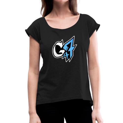 G47er - Frauen T-Shirt mit gerollten Ärmeln