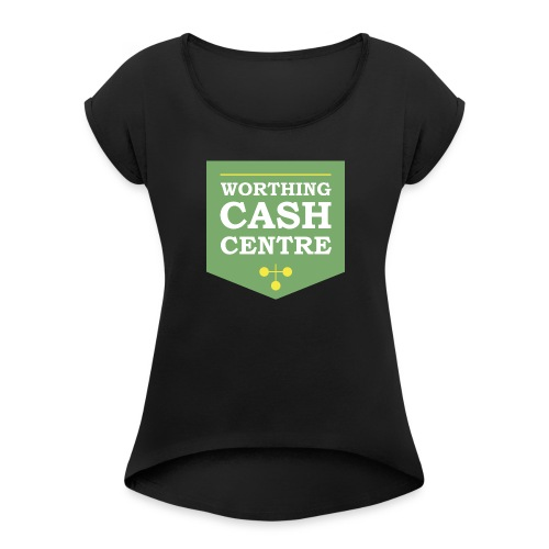 WCC - Test Image - Women's T-Shirt with rolled up sleeves