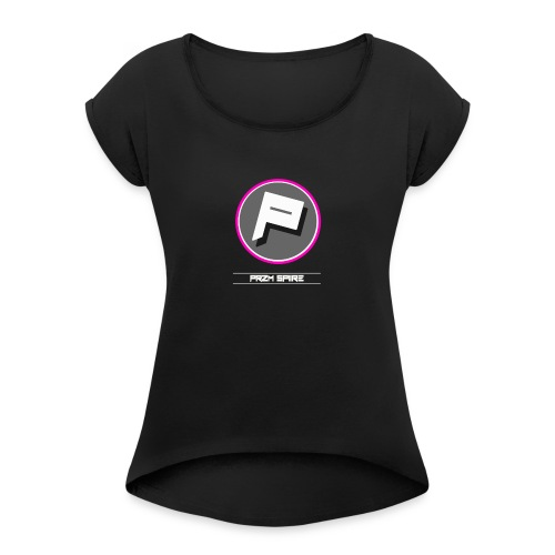 Przm Spiire - Women's T-Shirt with rolled up sleeves