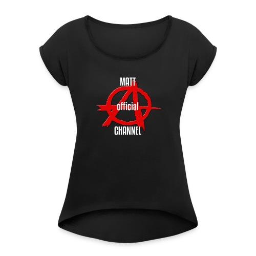MATT official CHANNEL - Maglietta da donna con risvolti