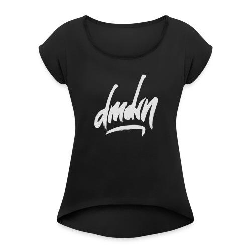 Demodern Design - DMDRN - Frauen T-Shirt mit gerollten Ärmeln