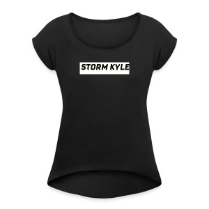STORM KYLE T-Shirts - Women's T-shirt with rolled up sleeves