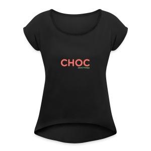 CHOC 2 - Maglietta da donna con risvolti