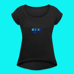 2017 wizard merch - Women's T-shirt with rolled up sleeves
