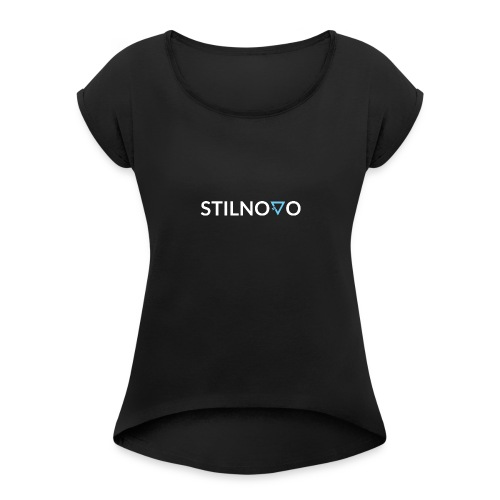 Stilnovo - Maglietta da donna con risvolti