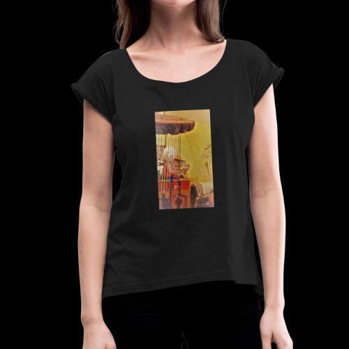 WIN 20180923 17 50 58 Pro - T-shirt à manches retroussées Femme