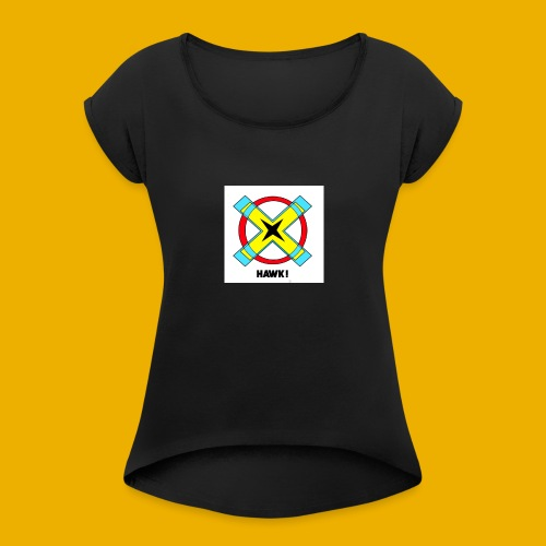 HAWKS - T-shirt à manches retroussées Femme
