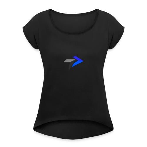 tine_dev - T-shirt à manches retroussées Femme
