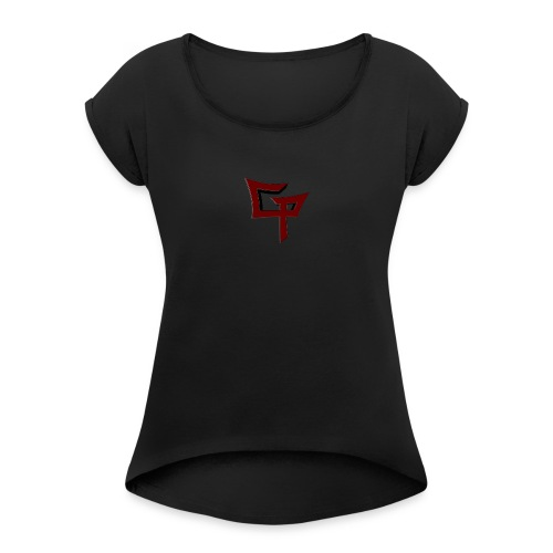 Gamer's Pact Original - Women's T-Shirt with rolled up sleeves