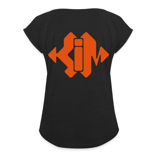 The Real Kim Shady Accessories - Women's T-Shirt with rolled up sleeves