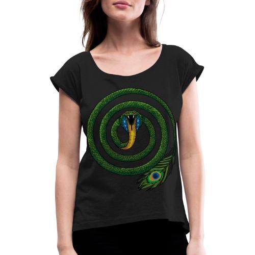 Rainbow Sahana MAYA - T-shirt à manches retroussées Femme