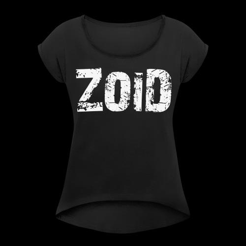 ZOID ONLY - Frauen T-Shirt mit gerollten Ärmeln