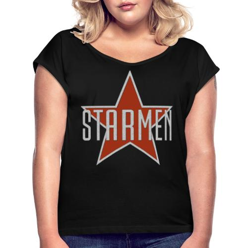 Starmen - Women's T-Shirt with rolled up sleeves