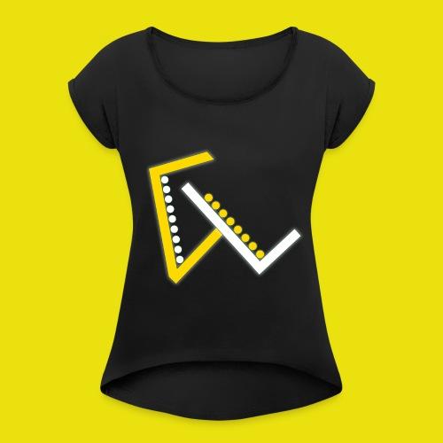 Giulio Laura FX T-Shirt - Maglietta da donna con risvolti