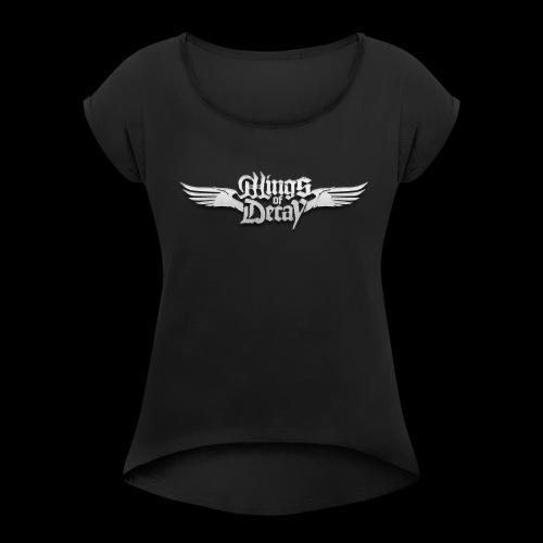 Wings of Decay Shop - T-shirt à manches retroussées Femme