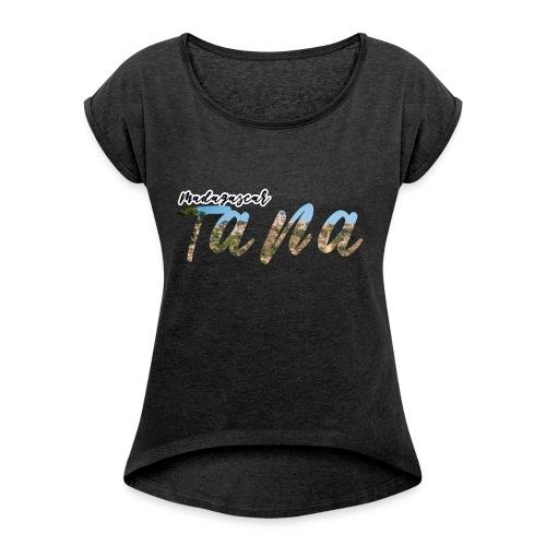 Sans titre 1 - T-shirt à manches retroussées Femme