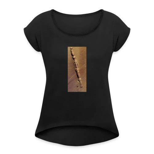 Mars - Frauen T-Shirt mit gerollten Ärmeln
