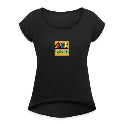 LGC Studio - T-shirt à manches retroussées Femme
