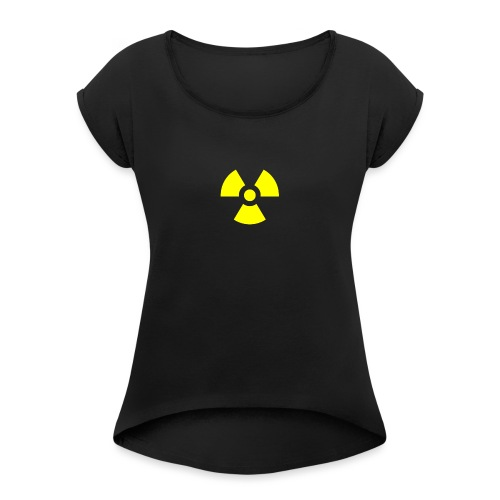 Nucl3ar - Women's T-Shirt with rolled up sleeves