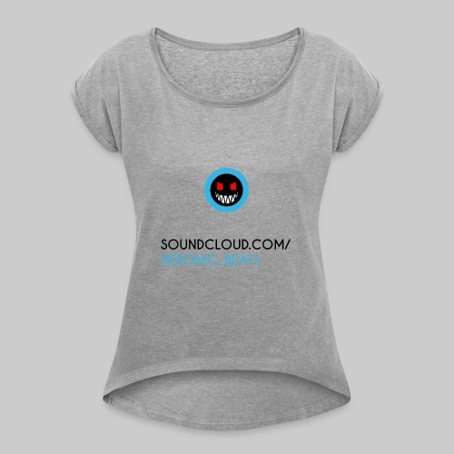 XERONIC LOGO - Women's T-Shirt with rolled up sleeves
