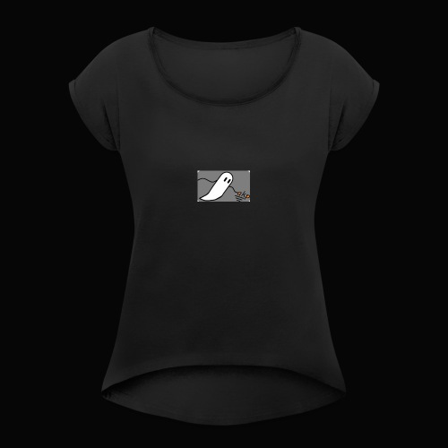 Akp Halloween special - Women's T-Shirt with rolled up sleeves