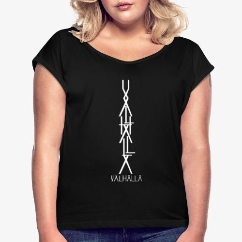 valhalla - T-shirt à manches retroussées Femme