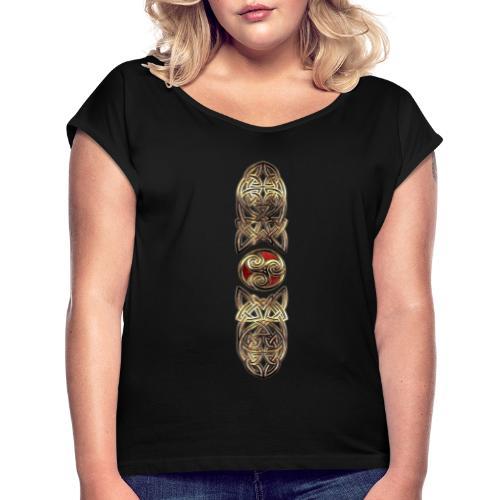 Triskel Trinity - T-shirt à manches retroussées Femme