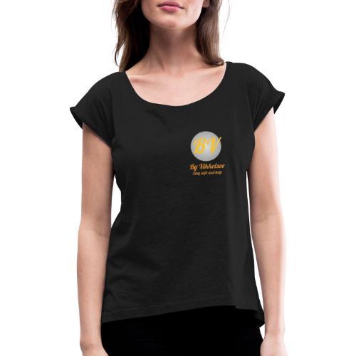 By Vikkelsoe - Dame T-shirt med rulleærmer