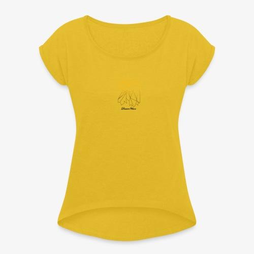 DreamWave Eagle/Aigle - T-shirt à manches retroussées Femme