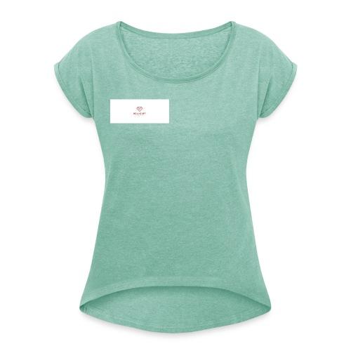 Real Suff - Vrouwen T-shirt met opgerolde mouwen