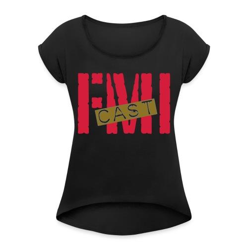 Logo S2 BIG - T-shirt à manches retroussées Femme