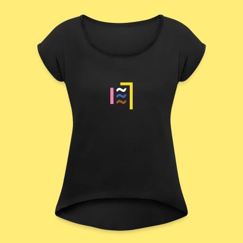 Yung.BRAND - T-shirt à manches retroussées Femme