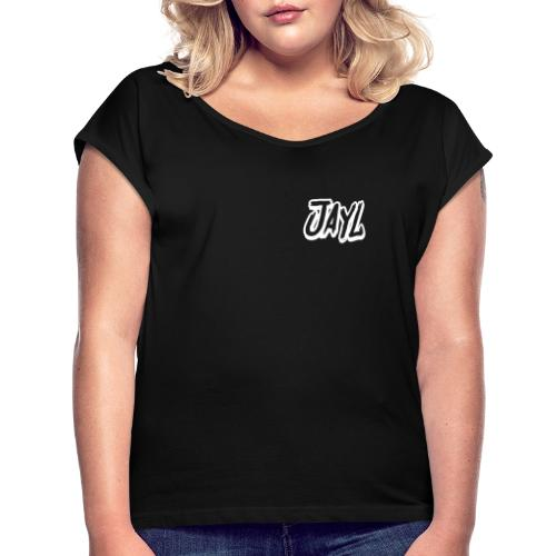JAYL - Frauen T-Shirt mit gerollten Ärmeln