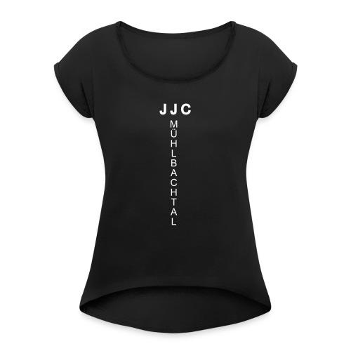 jjcmhose ws - Frauen T-Shirt mit gerollten Ärmeln