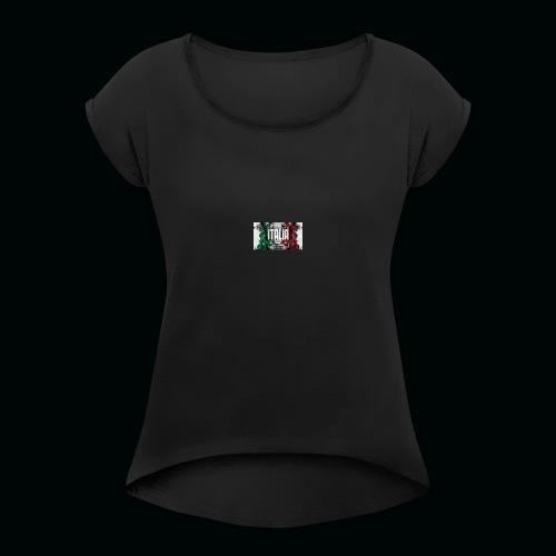 hardcore1 - T-shirt à manches retroussées Femme
