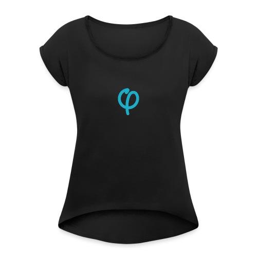 fi Insoumis - T-shirt à manches retroussées Femme