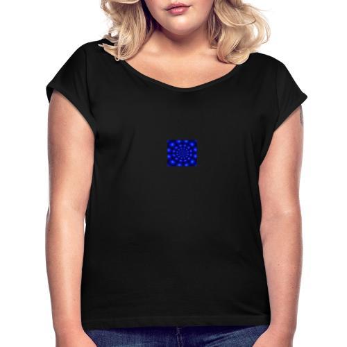 1217 - Frauen T-Shirt mit gerollten Ärmeln