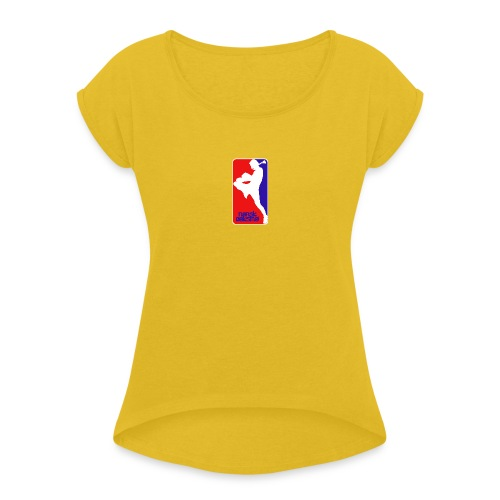 norsk boksing - Women's T-Shirt with rolled up sleeves