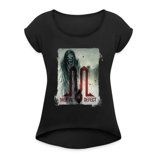White Walkers - Frauen T-Shirt mit gerollten Ärmeln