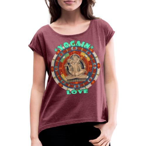 YogaIn Love - Maglietta da donna con risvolti