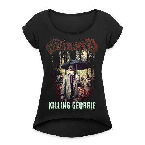 KILLING GEORGIE - Dame T-shirt med rulleærmer