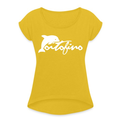 portofino 2019 WHITE - Women's T-Shirt with rolled up sleeves