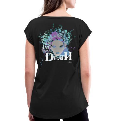 Kali + - Dame T-shirt med rulleærmer
