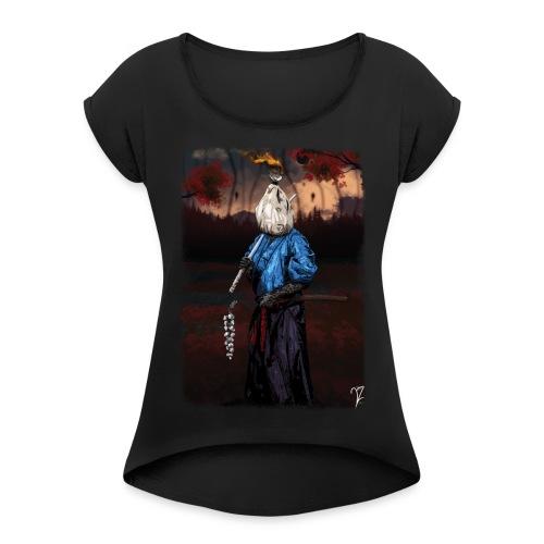 Kinchakumi - T-shirt à manches retroussées Femme