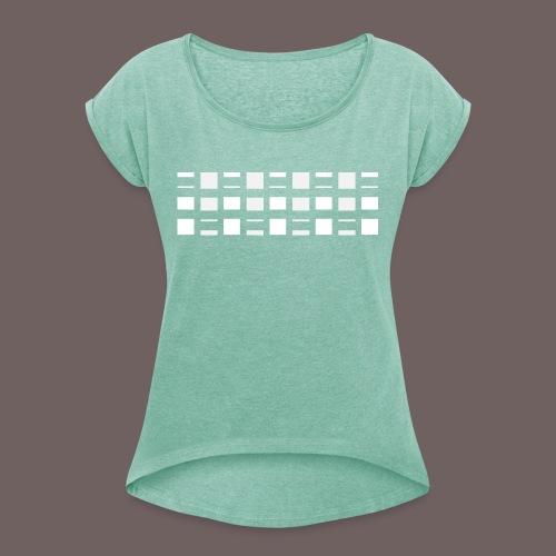 GBIGBO zjebeezjeboo - Rock - Blocs 2 - T-shirt à manches retroussées Femme