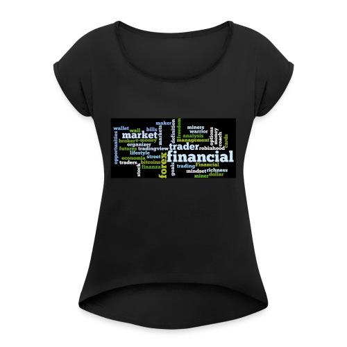 Designed T-Shirt for Traders Forex Stock Market - Maglietta da donna con risvolti