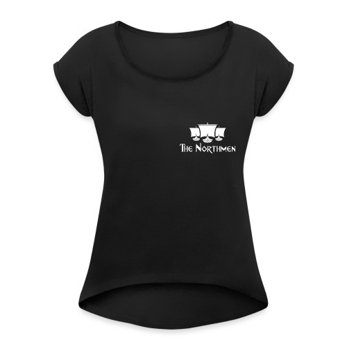The Northmen Pocket Design - Women's T-Shirt with rolled up sleeves