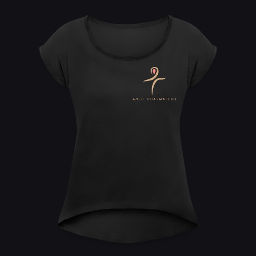 Ankh Pharmatech - Maglietta da donna con risvolti